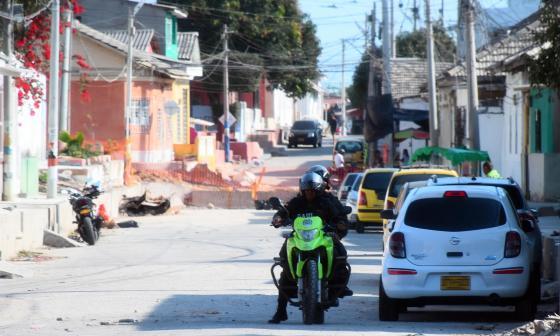 Policía y Gaula, patrulla las calles de Chiquinquirá.