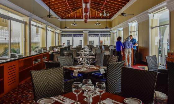 En el barrio El Prado se han habilitado espacios gastronómicos para todos los gustos.