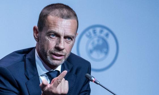Uefa amenaza a las ligas que se den por terminadas