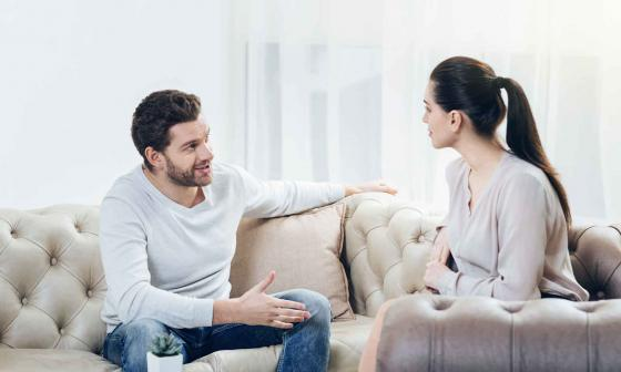 Este tiempo puede brindarle a la pareja el espacio necesario para solucionar los conflictos en su relación.