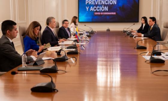 Alcaldesa de Santa Marta se suma a carta de respaldo de mandatarios costeños a medidas de Duque