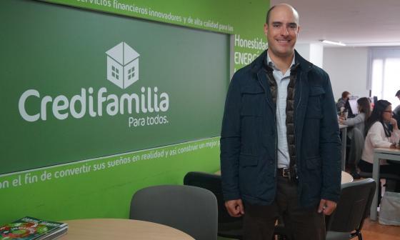 Juan Sebastián Pardo, presidente de Credifamilia.