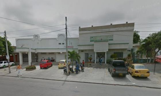 El presunto delincuente murió en la Clínica San Ignacio.