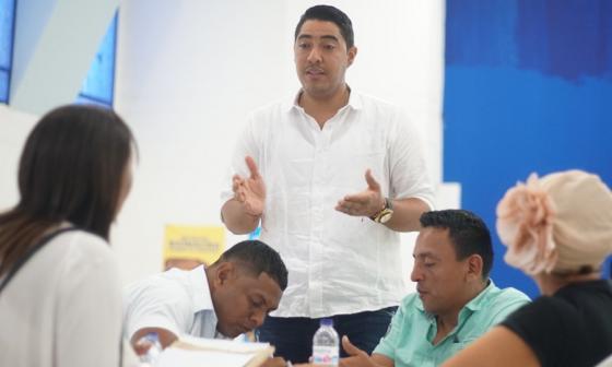 Secretario de Planeación, Fadner Fonseca.