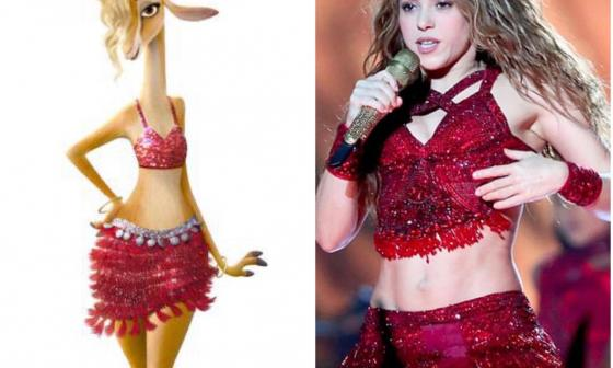 Shakira se vuelve a meter en la piel de una gacela para celebrar el Día de las Madres