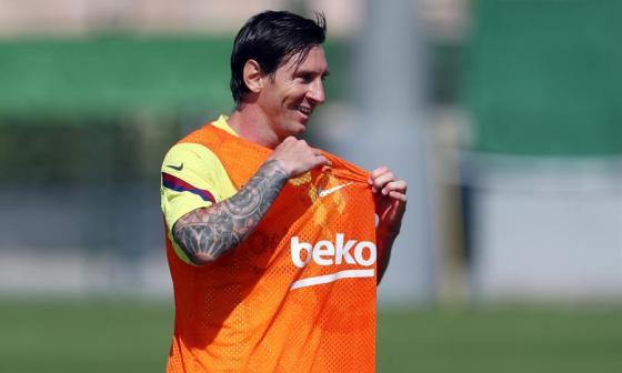 """""""Estoy ansioso por competir de nuevo"""": Messi"""