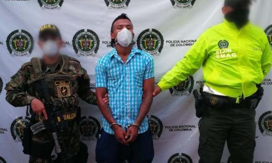 Cayó alias 'El Negro' por homicidios en Aracataca
