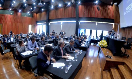 Imagen de una de las reunión que ha realizado la Dimayor este año.