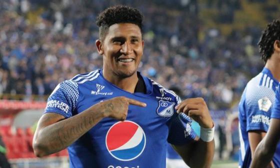 El goleador costarricense José Ortiz deja a Millonarios