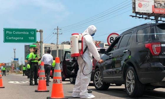 20.000 policías vigilan nuevo aislamiento obligatorio en la Costa