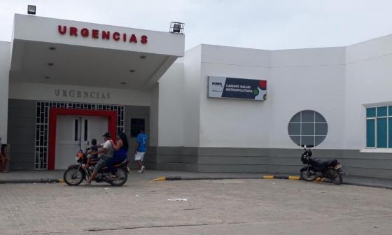 Paso Santa María donde falleció Yesid José González Gutiérrez