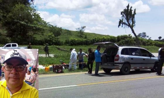 En hecho sucedió en la carretera que comunica Pelaya con Pailitas.