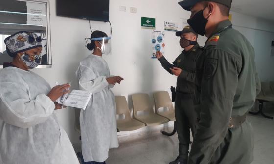 Frente de seguridad para profesionales de la salud crean en Santa Marta