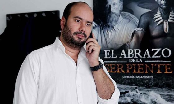 El director de cine colombiano Ciro Guerra.