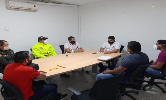 Toman medidas para minimizar hurto en buses en la vía El Algodón de Tubará