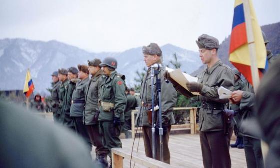 Un álbum de fotos Kodak para evocar el rol de Colombia en la Guerra de Corea