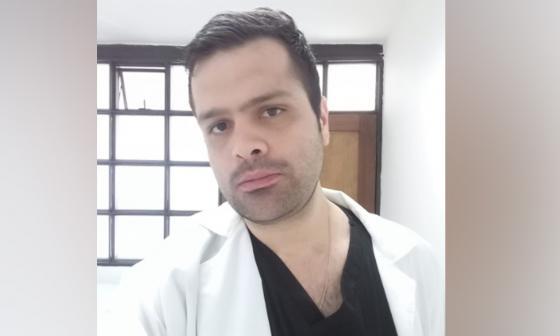 César Augusto Vergara, cirujano agredido.