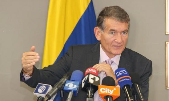 El ministro de Trabajo, Ángel Custodio Cabrera.