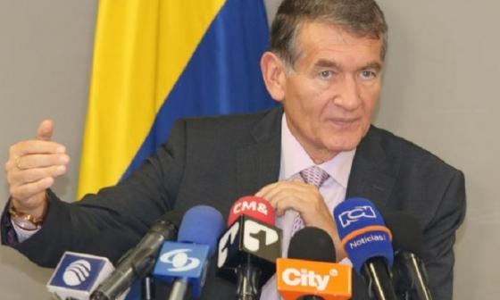 Ángel Custodio Cabrera, ministro de Trabajo.