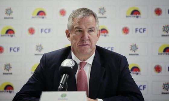 Carlos González Puche, director ejecutivo de la Asociación Colombiana de Futbolistas Profesionales, Acolfutpro.