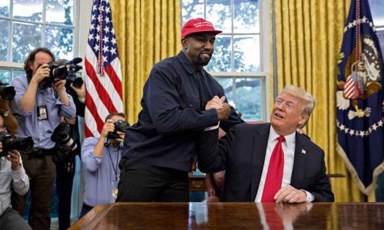 Kanye West anuncia que ya no apoya a Trump y que tuvo coronavirus en febrero