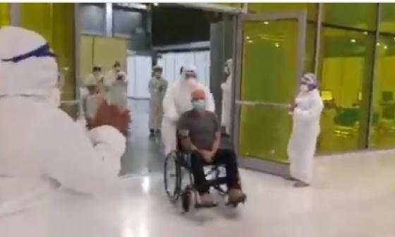 Dan de alta a primer paciente COVID tratado en hospital de Puerta de Oro