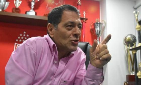 Tulio Gómez, presidente del América de Cali.