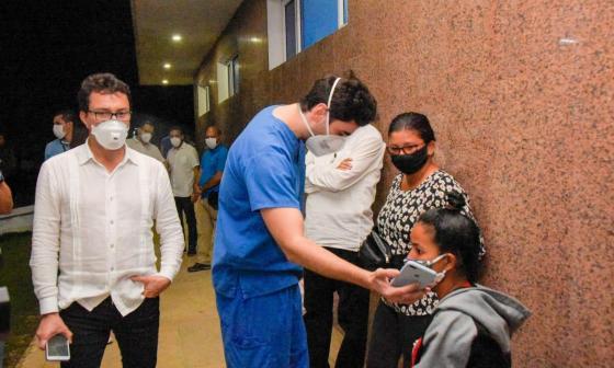 """""""Estamos de la mano con Dios"""": heridos de Tasajera a sus familias"""
