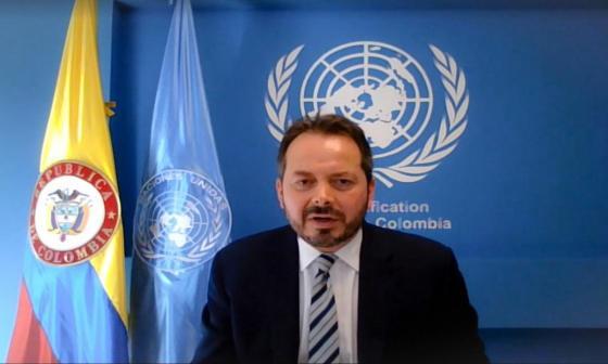 ONU dice estar preocupada por inseguridad y situación por COVID en Colombia