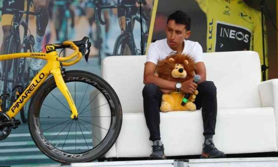 Egan Bernal promete que luchará para ganar su segundo Tour de Francia