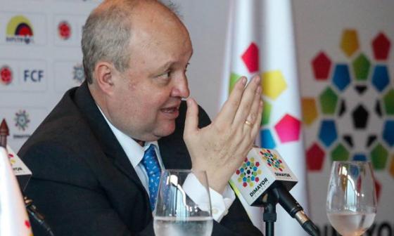 Jorge Enrique Vélez sale de la presidencia de la Dimayor