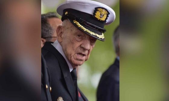 Fallece en Bogotá el oficial naval en servicio activo más antiguo del mundo