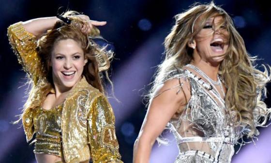 Show del Super Bowl de  Shakira y J.Lo, nominado a cuatro premios Emmy
