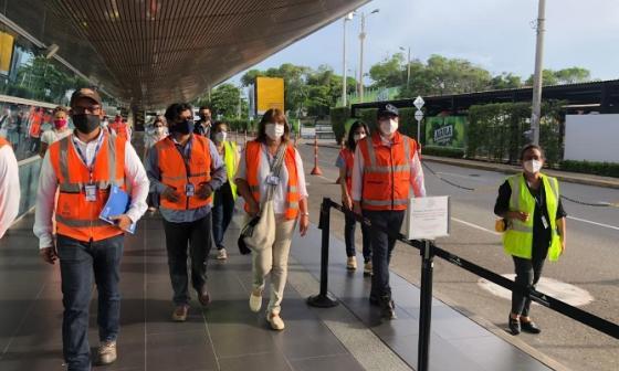 En video | Aeropuerto de Cartagena, listo para  reactivar vuelos nacionales