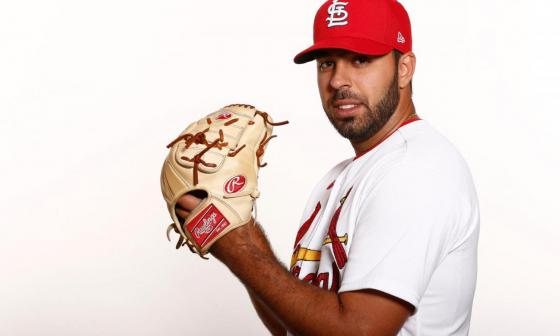 Nabil Crismatt, pitcher barranquillero de los Cardenales de San Luis.