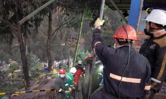 Mueren seis trabajadores por explosión en una mina en Norte de Santander