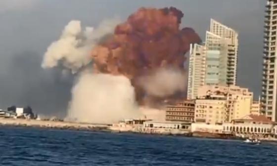 En video   Tragedia en Beirut: decenas de muertos tras explosión