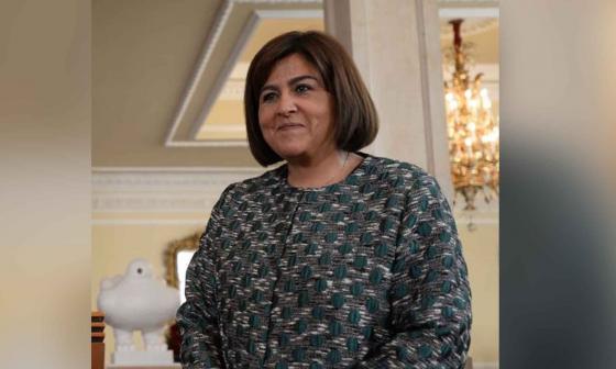 María Lorena Gutiérrez, presidente de Corficolombiana.
