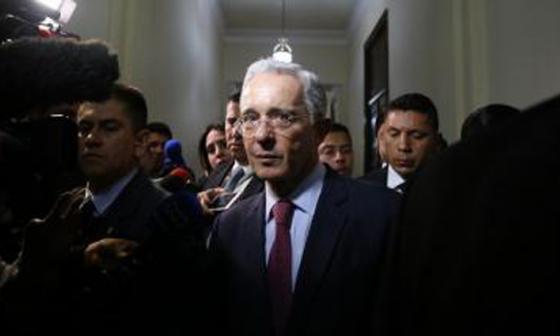 La carta en respaldo a Uribe
