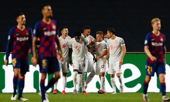 El Bayern vuelve un ocho al Barcelona
