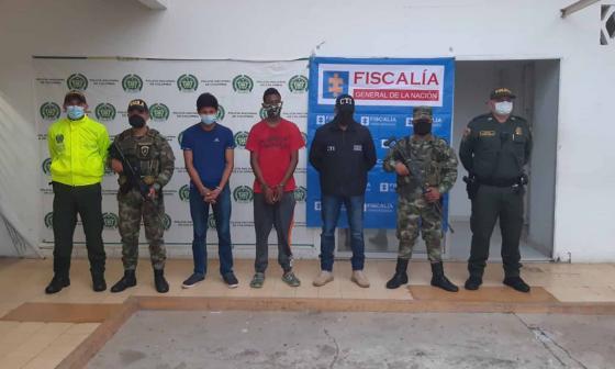 Capturan a presuntos sicarios del 'Clan del Golfo' en Planeta Rica, Córdoba