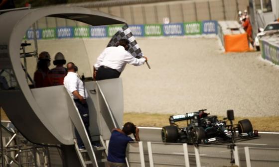 Sin novedad en la F1: Hamilton, campeón del Gran Premio de España