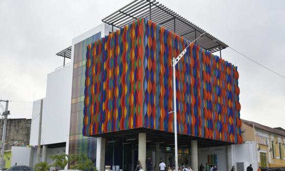 Fachada del Museo del Carnaval, ubicado en Barrio Abajo.