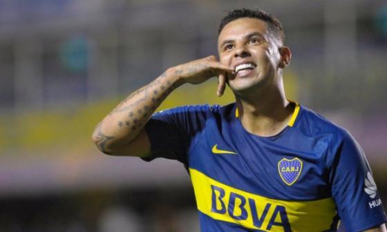 Edwin Cardona ya tuvo un paso por Boca Juniors en medio de de altibajos.