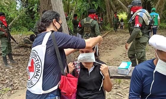 ELN deja en libertad a tres secuestrados en la zona del Catatumbo