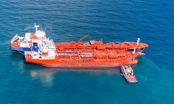Traspasan con éxito carga del buque Nordic Wolverine: Dimar