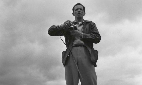 Nereo López fotografiado por Carlos Caicedo en Bogotá,1965.