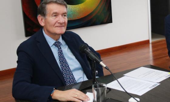 El ministro de Trabajo, Ángel Custodio Cabrera