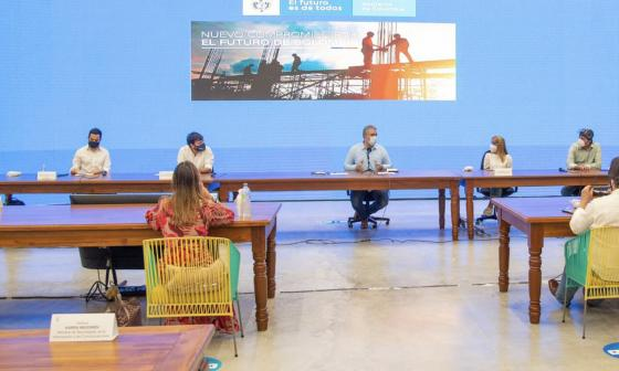 Los compromisos que Duque anunció en su visita a Barranquilla