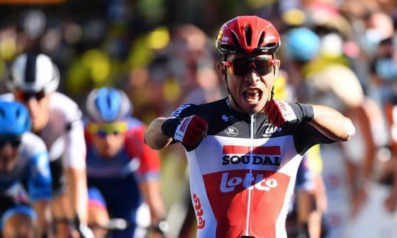 En video | Caleb Ewan se impone en la tercera etapa del Tour